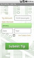 Screenshot of Tip TraQ Pro