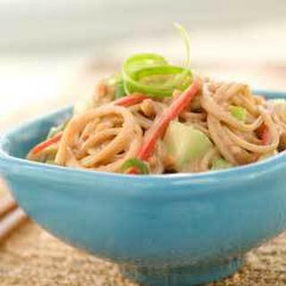 Pb & J Noodle Salad