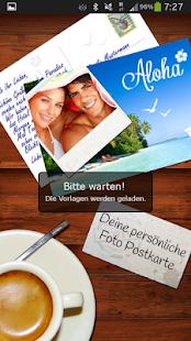 Foto Postkarte - screenshot thumbnail
