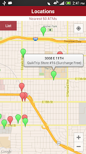TransFund ATM Locator- screenshot thumbnail