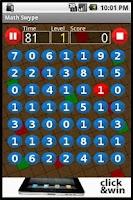 Screenshot of Math Swype