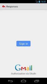 Gmail Canned Responses BETA Screenshot 1