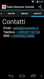 Radio Macomer Centrale- screenshot thumbnail
