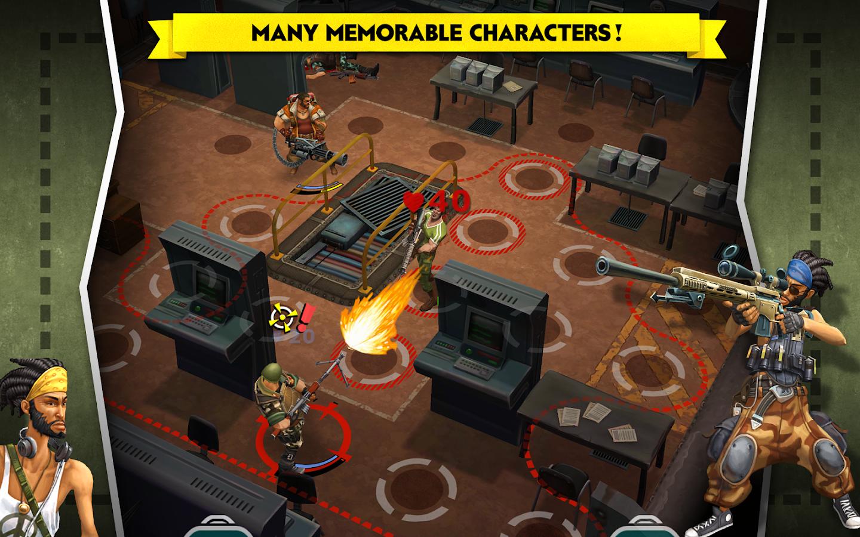 AntiSquad Tactics Premium- tangkapan layar