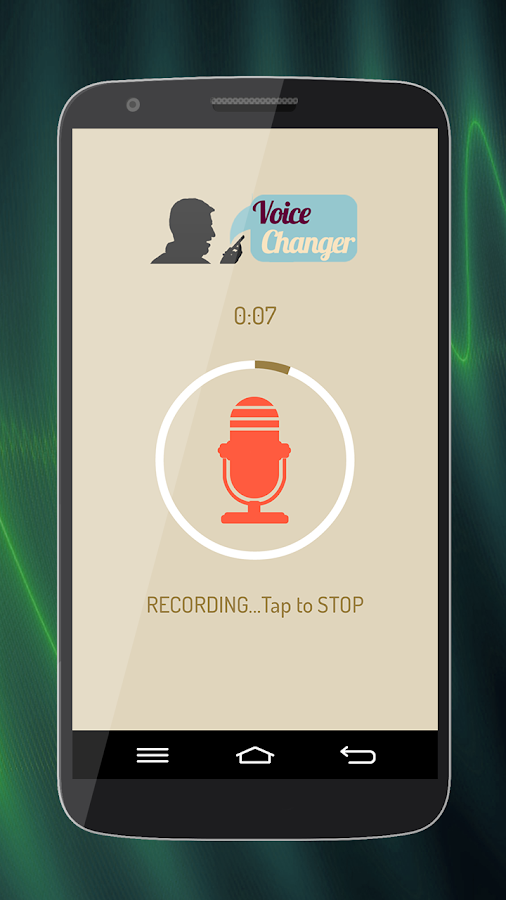 Voice Changer & Audio Effects- screenshot