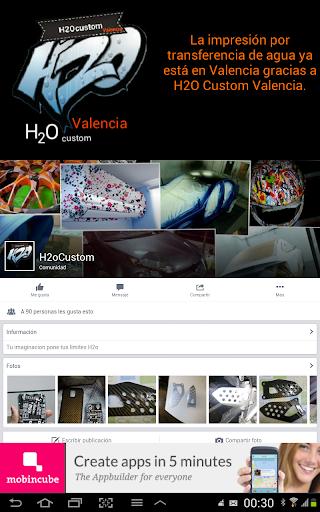 【免費購物App】H2O Custom Valencia-APP點子
