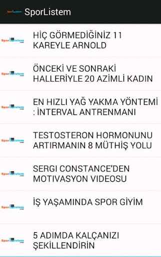 SporListem