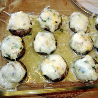 Stuffed Mushrooms with Swiss Cheese