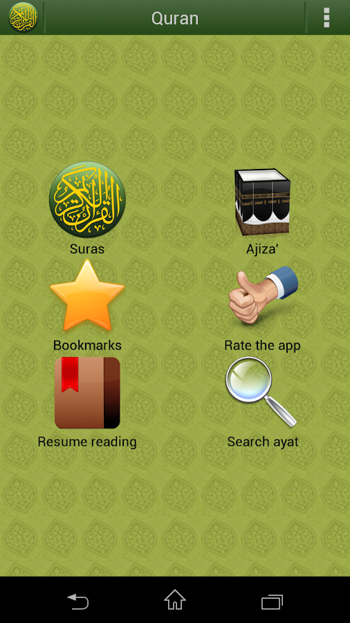 Quran Lite (Pickthall) - screenshot