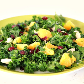Fresh Kale Salad with Orange