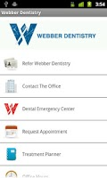 Screenshot of Webber Dentistry