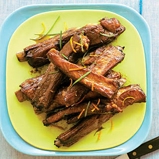 Roasted Pork Spareribs with Citrus-Soy Sauce.