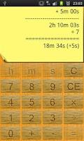 Screenshot of Time Calculator