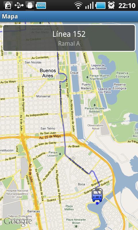 Bondis Buenos Aires Bus Guide- screenshot