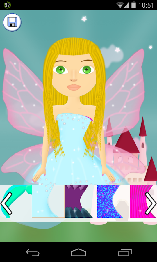 fairy salon games - screenshot