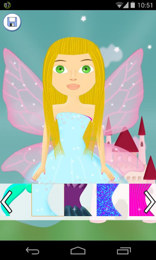 fairy salon games - screenshot