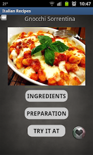 10Q Italian Recipes- screenshot thumbnail