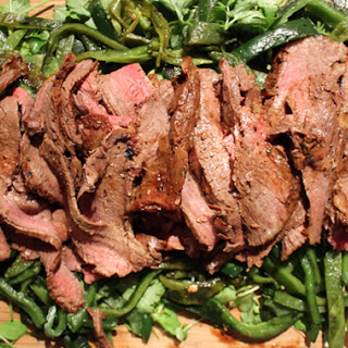 Grill Coffee-Rubbed Flank Steak