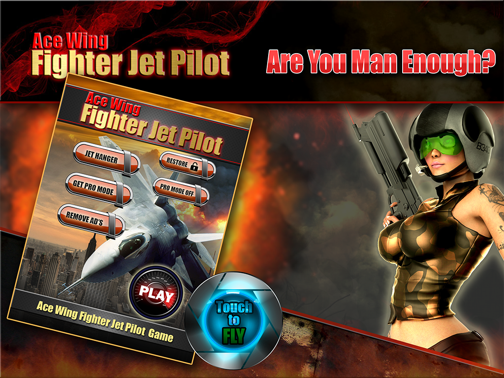 Ace Wing Fighter Jet Pilot - screenshot