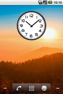 Simple Analog Clock - screenshot thumbnail