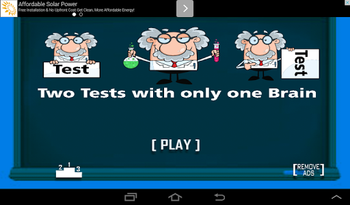 Two Tests but One Brain