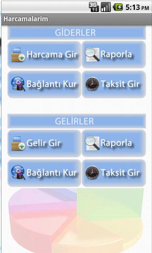Gelir Gider Takibi
