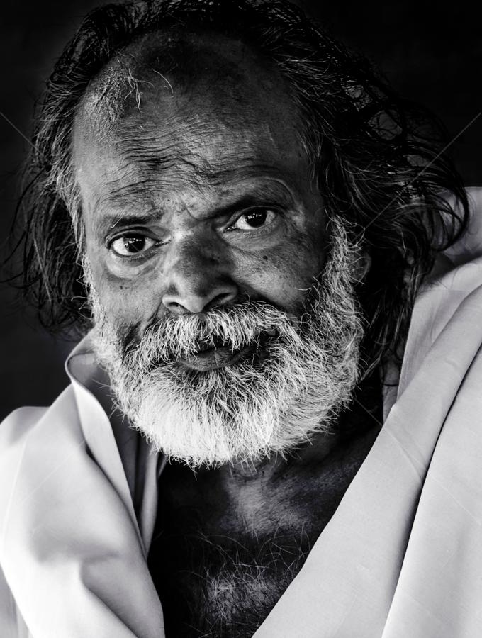 by Deepak Goswami - People Portraits of Men