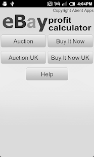 Calculator for eBay US & UK- screenshot thumbnail