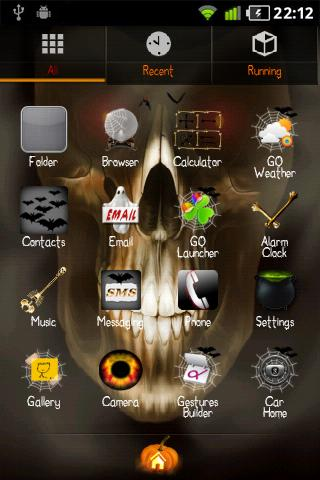 Halloween GO Launcher EX Theme- screenshot