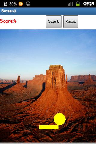 Pong.Wüste