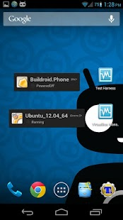 VirtualBox Manager- screenshot thumbnail