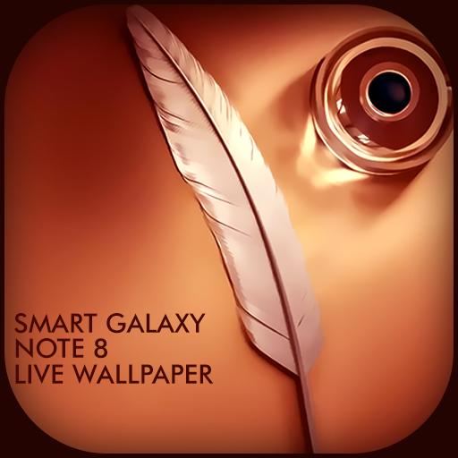 Smart Galaxy Note8 LWP LOGO-APP點子