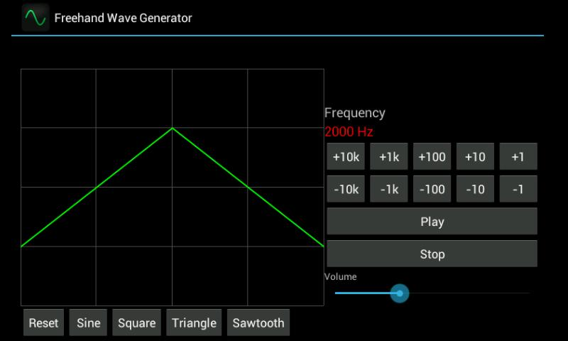 Freehand Wave Generator- screenshot
