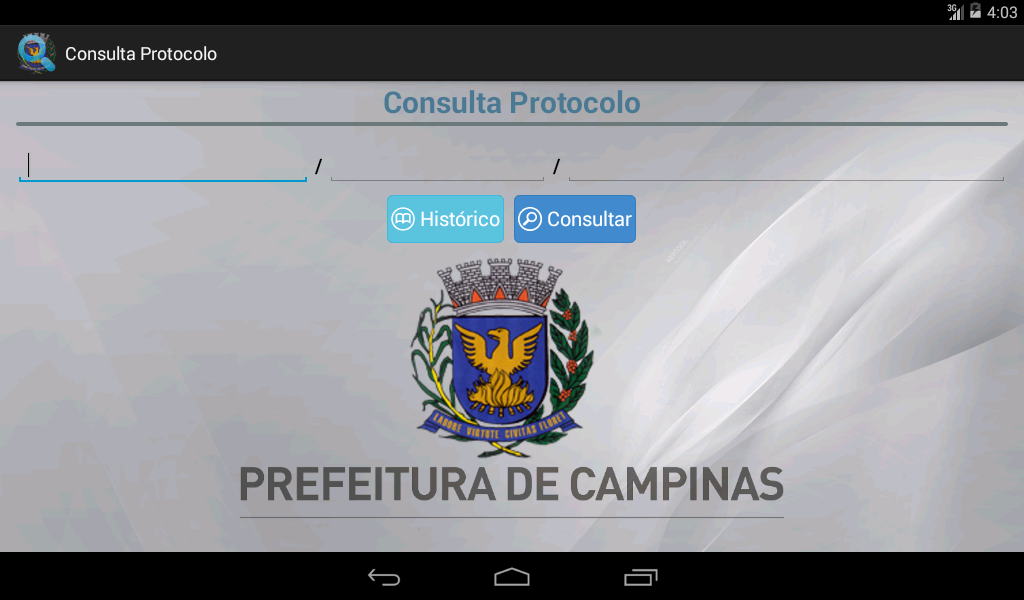 Consulta Protocolo- screenshot