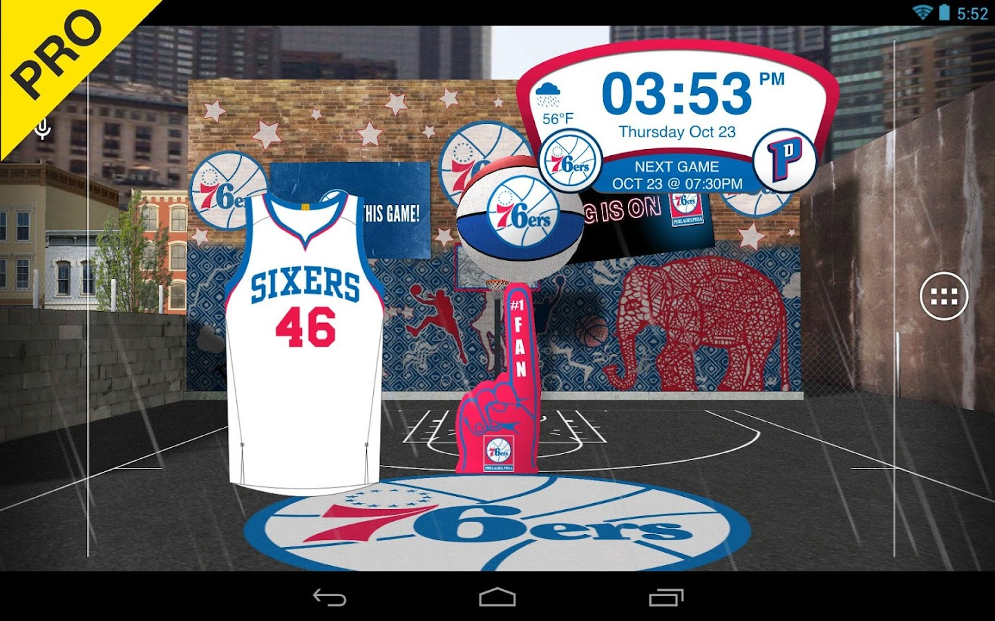 NBA 2015 Live Wallpaper- screenshot