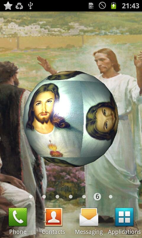 Jesus Christ 3D Live Wallpaper - screenshot