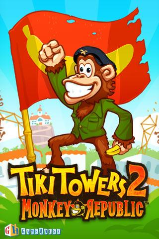 Tiki Towers 2: Monkey Republic - screenshot