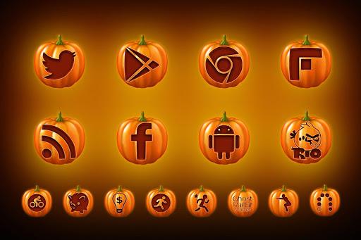 Halloween Pumpkin Icon Pack