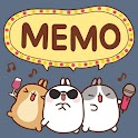 [Sale] Molang Ani Memo Widget icon