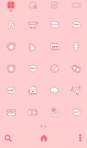 【免費個人化App】러블리백설공주 도돌런처 테마-APP點子