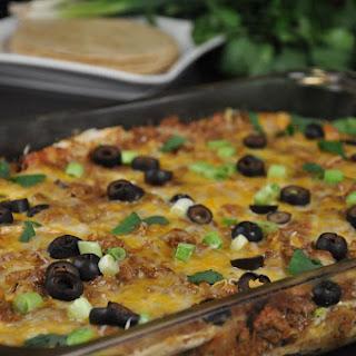 Healthier Mexican Lasagna