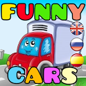 Funny Cars Game for Kids icon