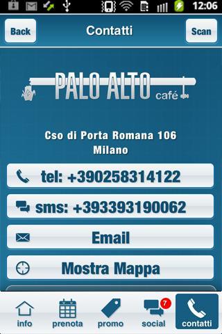 Palo Alto Café- screenshot