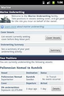 Marine Trader Strategy Game