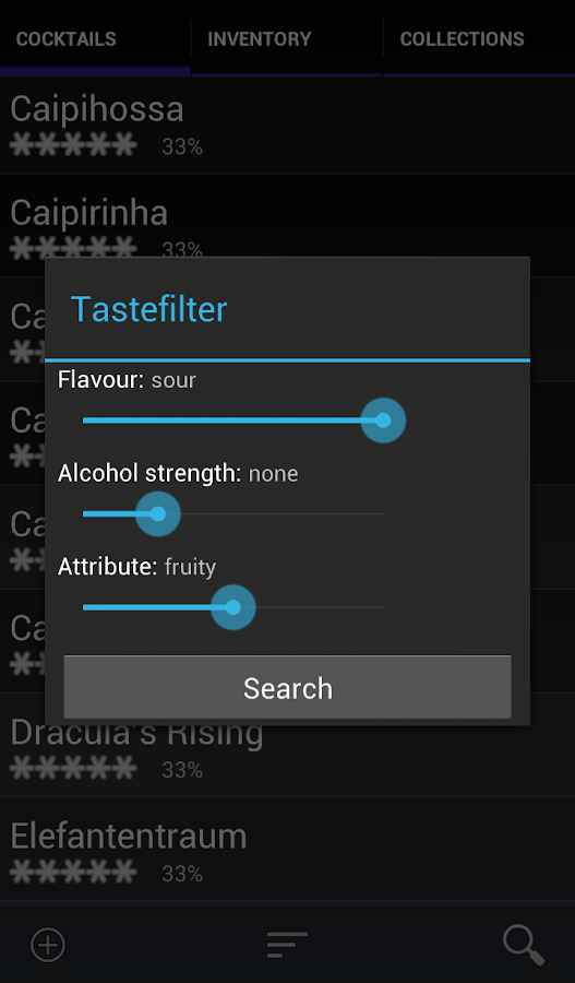 Bar Manager Pro - Cocktail App- screenshot