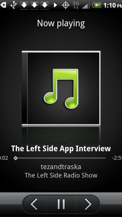 The Left Side Radio Show - screenshot