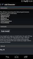Screenshot of EVE Droid BETA