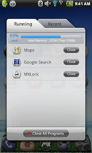 MXHome Launcher 3.1.8- screenshot thumbnail