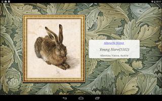 Screenshot of Famous Paintings