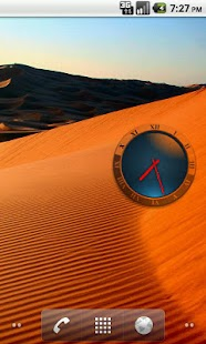 Transparent Analog Clock - screenshot thumbnail